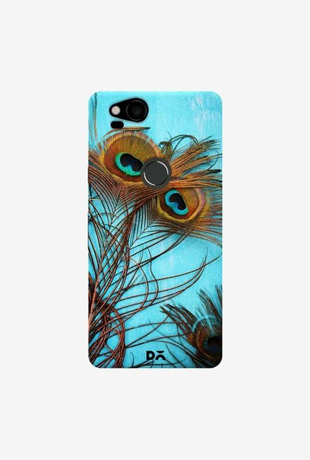 DailyObjects 3 Peacock Feathers Case Cover For Google Pixel 2
