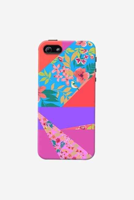 DailyObjects Floral Diagonals Case For iPhone 5/5S