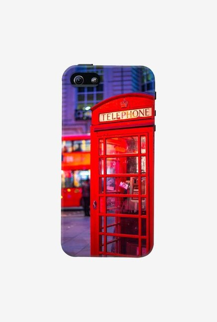 DailyObjects Telephone Box Case For iPhone 5/5S