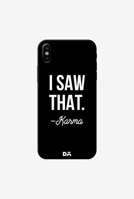 DailyObjects Karma Case Cover For iPhone XS