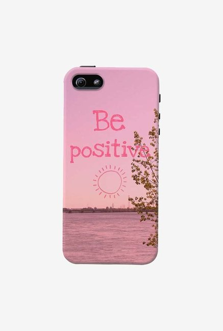 DailyObjects Be Positive Case For iPhone 5/5S
