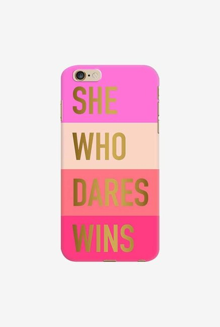 DailyObjects She Who Dares Wins Case For iPhone 6 Plus