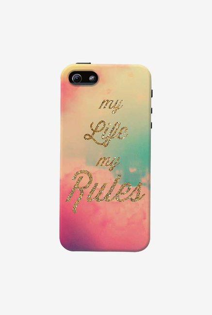 DailyObjects My Life My Rules Case For iPhone 5/5S