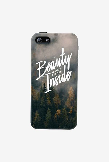 DailyObjects Beauty Comes From Inside Case For iPhone 5/5S