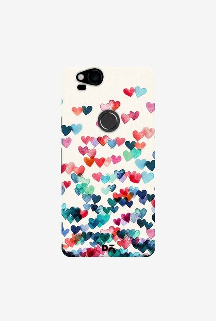 DailyObjects Heart Connections Case Cover For Google Pixel 2