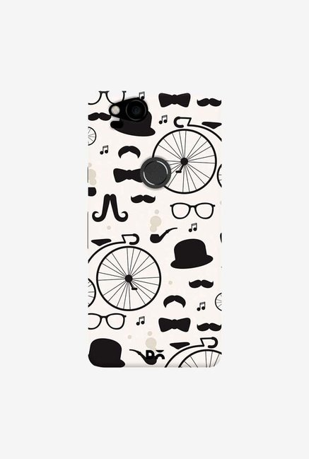 DailyObjects Hipster Icons Case Cover For Google Pixel 2