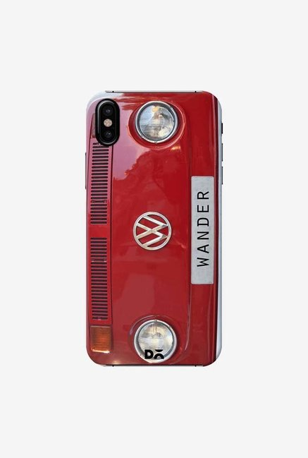 DailyObjects Wander Red Case Cover For iPhone XS