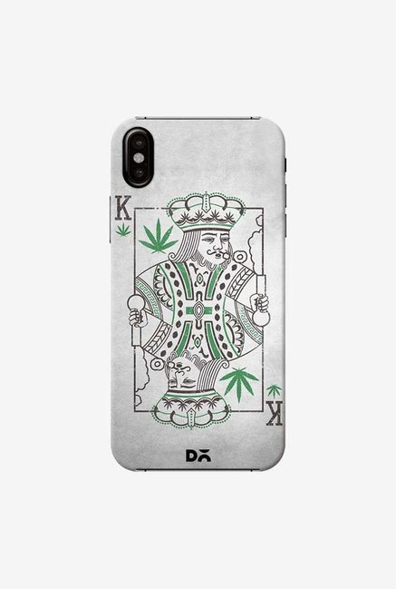 DailyObjects Weed King Case Cover For iPhone XS