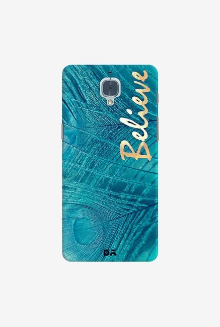 DailyObjects Believe In Aqua Case Cover For OnePlus 3T