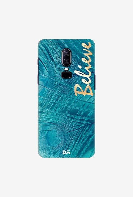 DailyObjects Believe In Aqua Case Cover For OnePlus 6