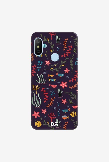 DailyObjects Aqua 19 Case Cover For Xiaomi Redmi 6 Pro/A2 Lite