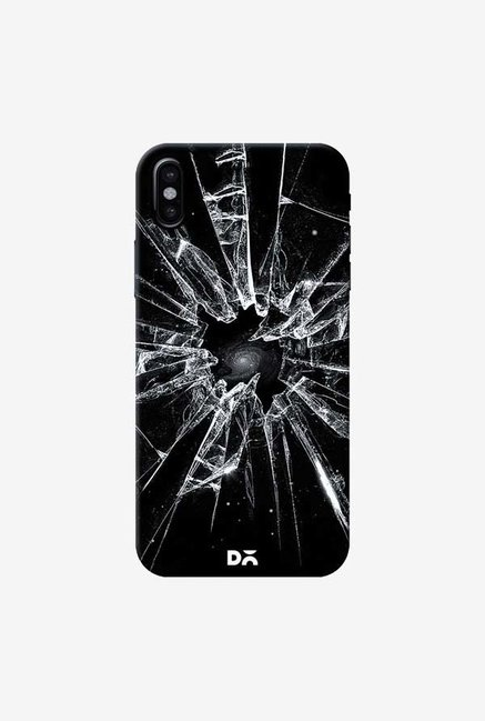 DailyObjects Broken Glass Case Cover For iPhone XS