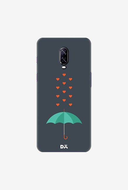 DailyObjects Its Raining Hearts Case Cover For OnePlus 6T