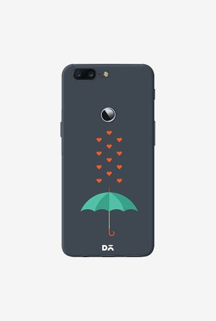 DailyObjects Its Raining Hearts Case Cover For OnePlus 5T