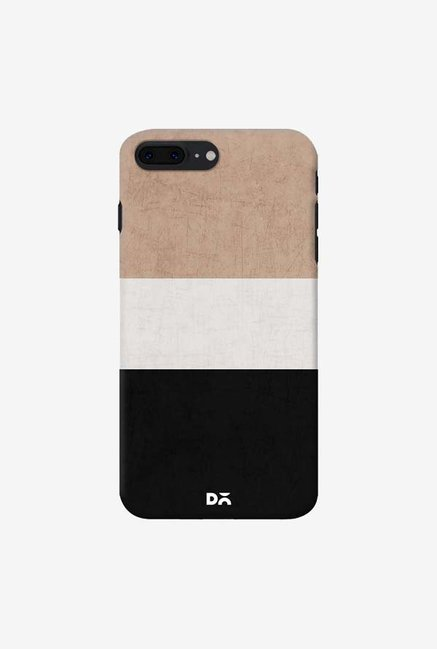 DailyObjects Natural Cream and Black Case For iPhone 7 Plus