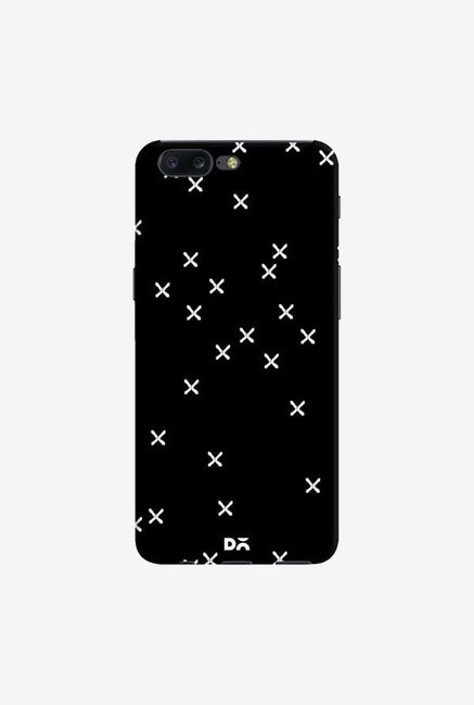 DailyObjects Crosses Black Case Cover For OnePlus 5