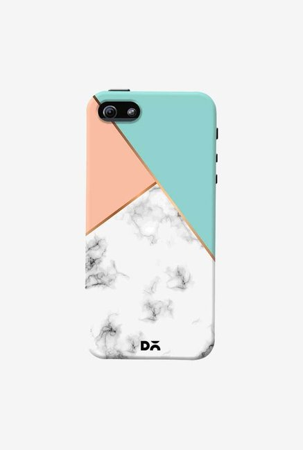 DailyObjects Marble Pink Green Case Cover For iPhone 5/5S