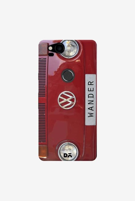DailyObjects Wander Red Case Cover For Google Pixel 2
