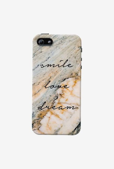 DailyObjects Smile Love Dream Case For iPhone 5/5S