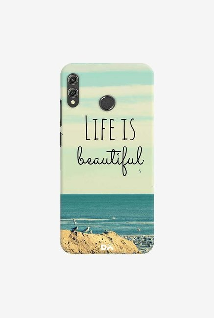 DailyObjects Life Is Beautiful Case Cover For Huawei Honor 8X