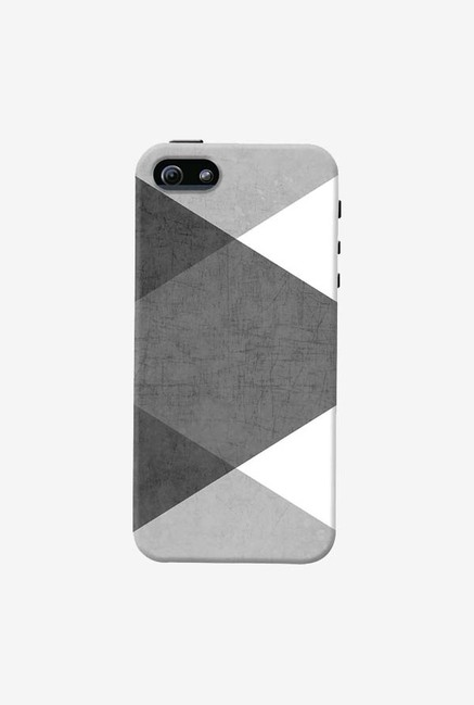 DailyObjects Black and White Triangles Case For iPhone 5/5S