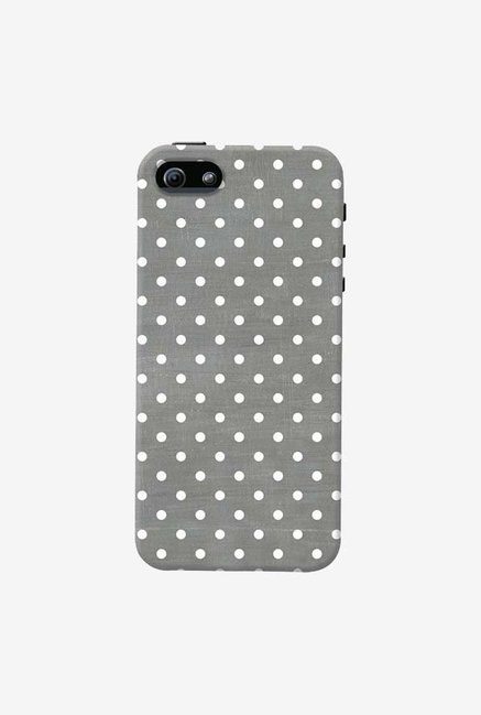 DailyObjects Dark Gray Swiss Dots Case For iPhone 5/5S
