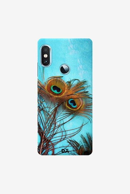 DailyObjects 3 Peacock Feathers Case Cover For Xiaomi Redmi Y2