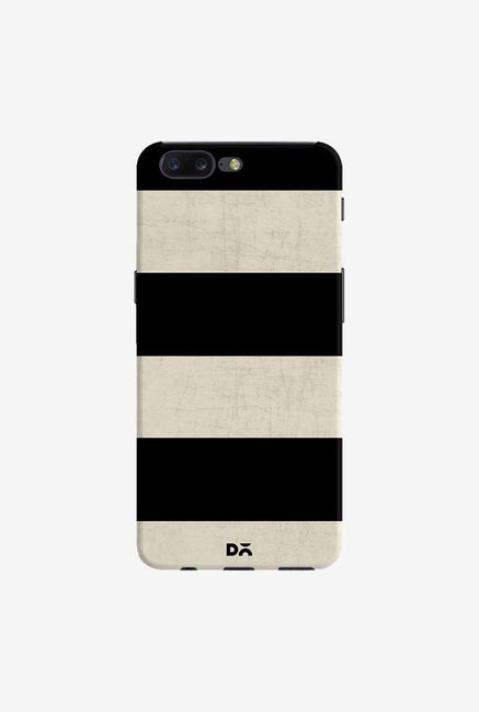 DailyObjects Vintage Black Stripes Case Cover For OnePlus 5