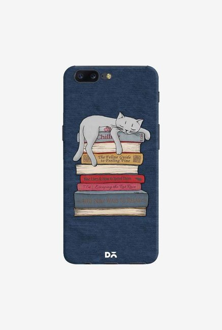 DailyObjects How to Chill Like A Cat Case Cover For OnePlus 5