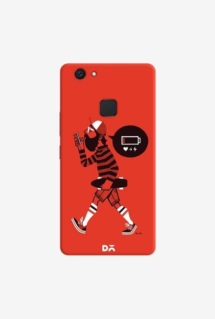 DailyObjects Lowbat Case Cover For Vivo V7 Plus