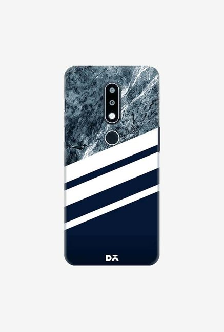 DailyObjects Marble Navy Case Cover For Nokia 6.1 Plus