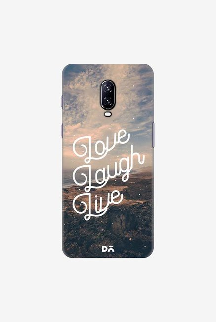 DailyObjects Love Laugh Live Case Cover For OnePlus 6T