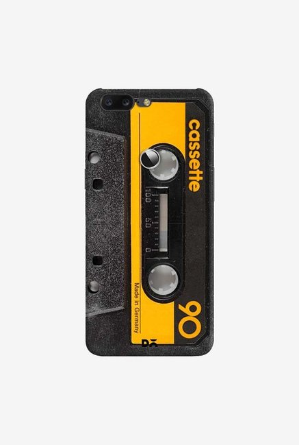 DailyObjects Cassette Yellow Case Cover For OnePlus 5T