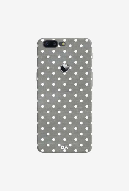 DailyObjects Dark Gray Swiss Dots Case Cover For OnePlus 5T