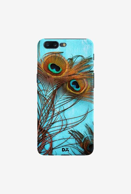 DailyObjects 3 Peacock Feathers Case Cover For OnePlus 5