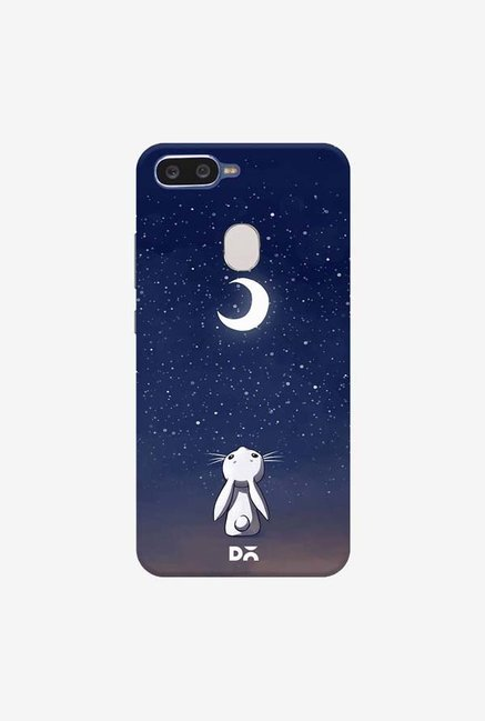 DailyObjects Moon Bunny Case Cover For Oppo F9 Pro