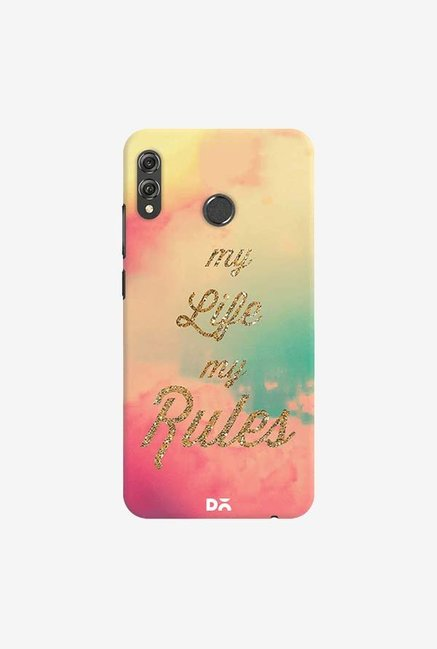 DailyObjects My Life My Rules Case Cover For Huawei Honor 8X