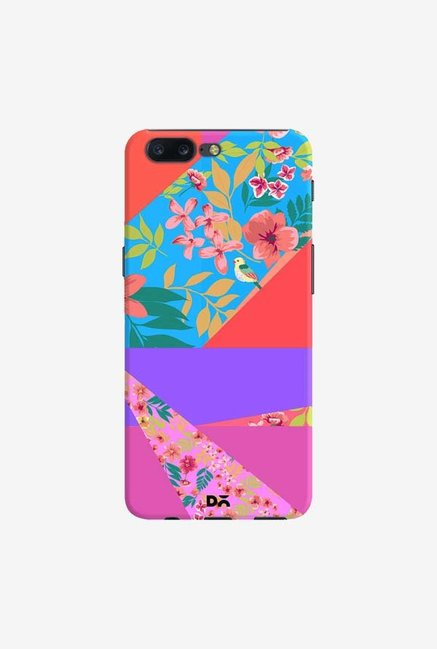 DailyObjects Floral Diagonals Case Cover For OnePlus 5