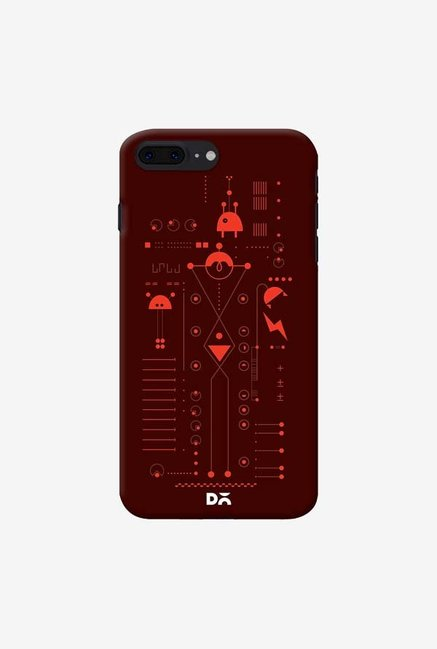 DailyObjects Cosmo Series Brown Case For iPhone 7 Plus