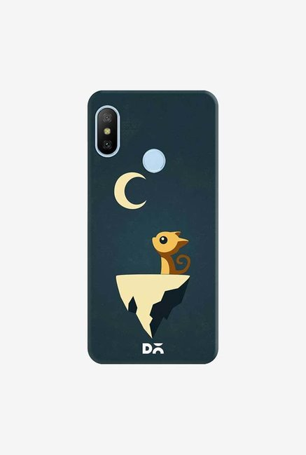 DailyObjects Moon Cat Case Cover For Xiaomi Redmi 6 Pro/A2 Lite