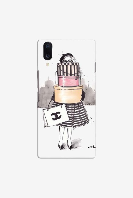 DailyObjects Shopping Junkie Case Cover For Vivo V11 Pro
