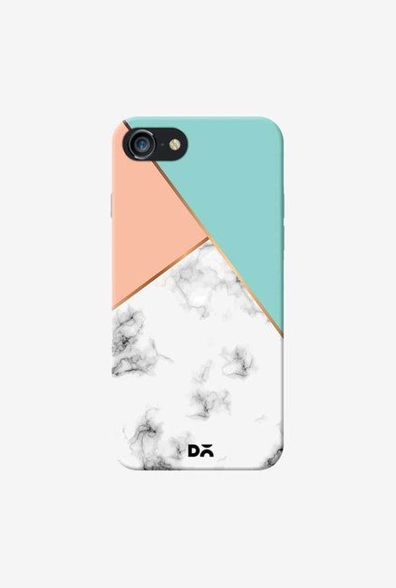DailyObjects Marble Pink Green Case Cover For iPhone 8