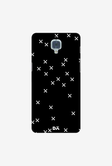 DailyObjects Crosses Black Case Cover For OnePlus 3T