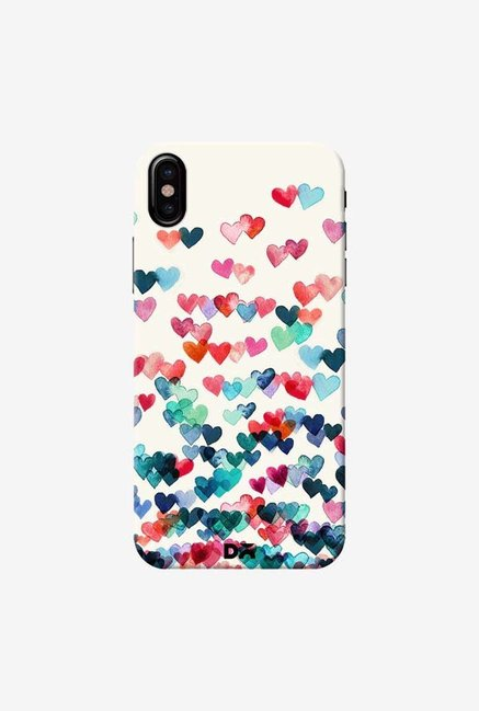 DailyObjects Heart Connections Case Cover For iPhone XS