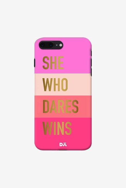 DailyObjects She Who Dares Wins Case For iPhone 7 Plus