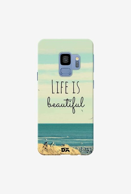 DailyObjects Life Is Beautiful Case Cover For Samsung Galaxy S9