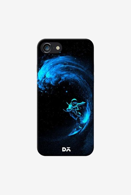 DailyObjects Space Surfing Blue Case For iPhone 7