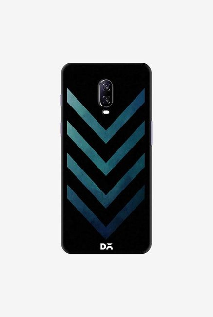 DailyObjects Dark Blue Arrow Case Cover For OnePlus 6T