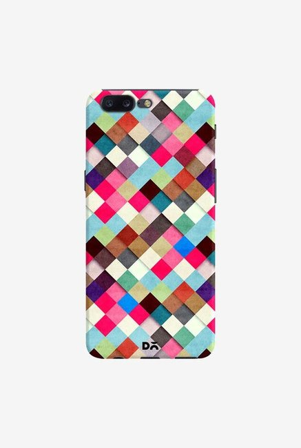 DailyObjects Ubrik Checker Case Cover For OnePlus 5