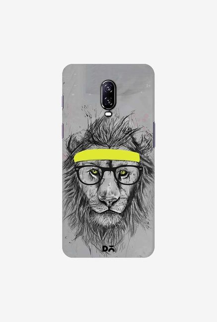 DailyObjects Hipster Lion Case Cover For OnePlus 6T